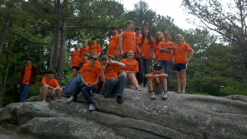 Youth at Stone Mountain